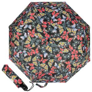 Зонт складной Ferre 6002-OC Butterfly Black фото-1