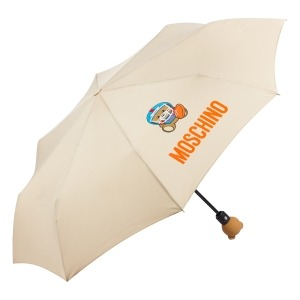Зонт складной Moschino 8053-OCD US Football Bear Beige фото-2