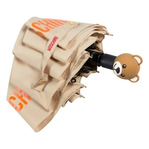 Зонт складной Moschino 8053-OCD US Football Bear Beige фото-4