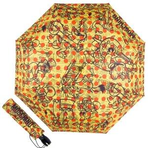 Зонт складной Moschino 8028-OCA Singing Characters Multi фото-1