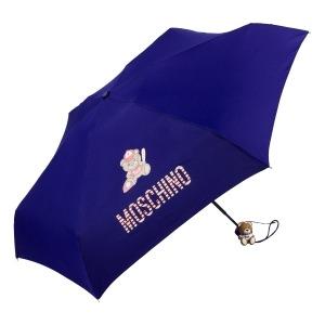 Зонт складной Moschino 8052-SMINF Baseball Bear Blu фото-2