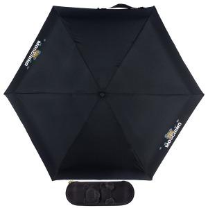 Зонт складной Moschino 8042-SMINIA Shadow Bear Black фото-1