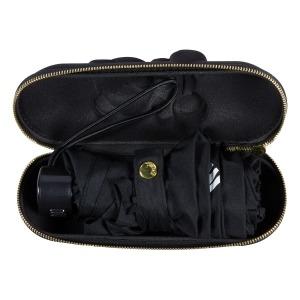 Зонт складной Moschino 8042-SMINIA Shadow Bear Black фото-4