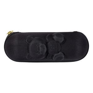 Зонт складной Moschino 8042-SMINIA Shadow Bear Black фото-5
