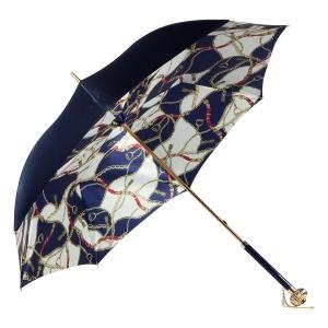 Зонт-трость Pasotti Blu Catena Globe фото-3