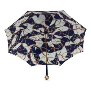 Зонт-трость Pasotti Blu Catena Globe фото-4
