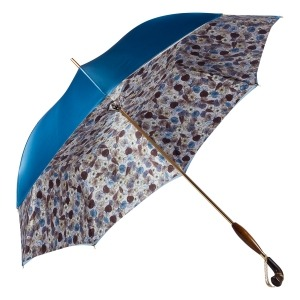 Зонт-трость Pasotti Becolore Blu Gato Albeno Swar фото-3