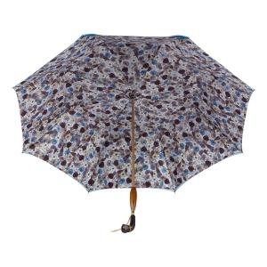 Зонт-трость Pasotti Becolore Blu Gato Albeno Swar фото-4
