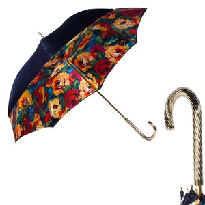 Зонт-трость Pasotti Blu Makro Spring фото-1