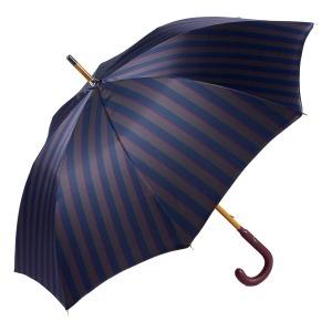 Зонт-трость Pasotti Pelle/Legno Alfred Blu фото-3