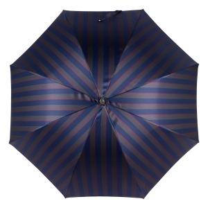 Зонт-трость Pasotti Pelle/Legno Alfred Blu фото-2