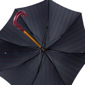 Зонт-трость Pasotti Pelle/Legno Alfred Blu фото-4