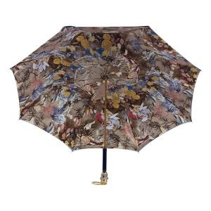 Зонт-трость Pasotti Becolore Blu Paradis Botte фото-4