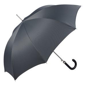 Зонт-трость Pasotti Classic Pelle Chevron Grey фото-3