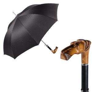 Зонт-трость Pasotti Alano Legno Strips фото-1