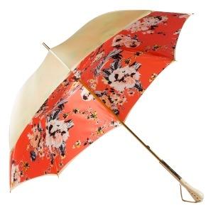 Зонт-трость Pasotti Crema Ticolori Coral Tress фото-2