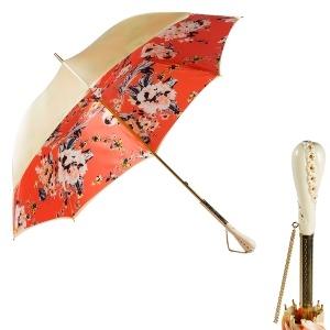 Зонт-трость Pasotti Crema Ticolori Coral Tress фото-1
