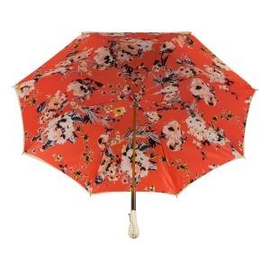 Зонт-трость Pasotti Crema Ticolori Coral Tress фото-4