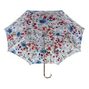 Зонт-Трость Pasotti Becolore Blu Viona Oro Dentell фото-4