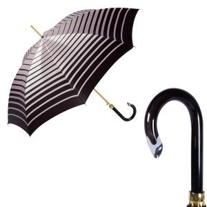 Зонт-трость Pasotti Uno Pink Stripes фото-1