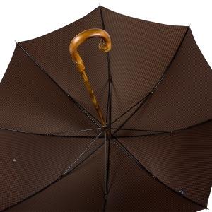 Зонт-трость Pasotti Bark Chestnu Pepita Morrone фото-4