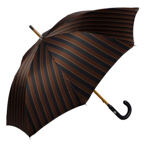 Зонт-трость Pasotti Pelle/Legno Big Stripes фото-3