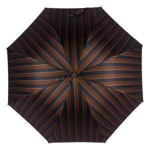 Зонт-трость Pasotti Pelle/Legno Big Stripes фото-2