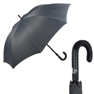 Зонт-трость Pasotti Mocasin Chevron Grey фото-1