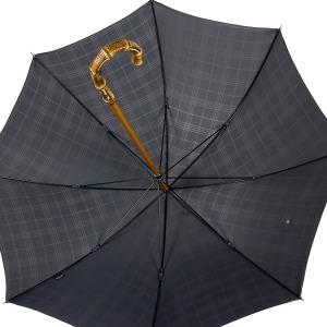 Зонт-трость Pasotti Bamboo Cell Grey фото-4