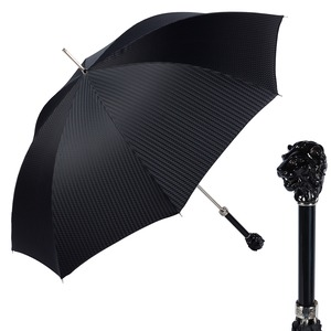 Зонт-трость Pasotti Leone Nero Rombes Black фото-1