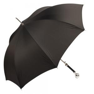 Зонт Трость Pasotti Artiglio Silver StripesS Black фото-2