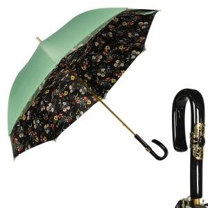 Зонт-трость Pasotti  Verde Milla Plastica Fiora фото-1