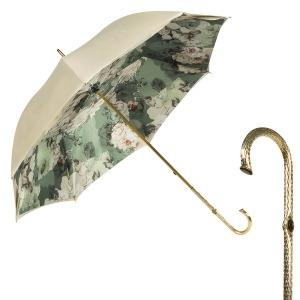 Зонт-трость Pasotti Ivory Ombra Oro фото-1