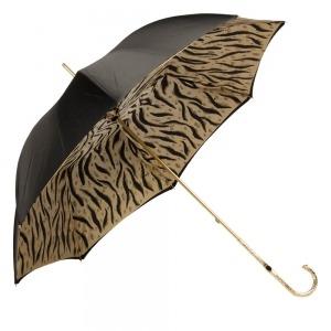 Зонт-трость Pasotti Nero Leo Pure Oro фото-4