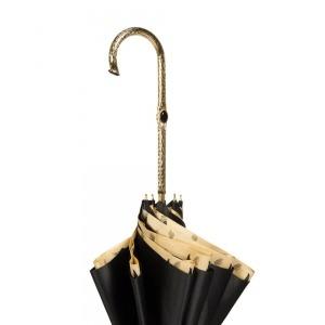 Зонт-трость Pasotti Nero Leo Pure Oro фото-3