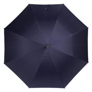 Зонт-трость Pasotti Pelle/Legno Punto Blu фото-2