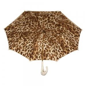 Зонт-Трость Pasotti Ivory Leo Pelle фото-3