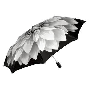 Зонт складной Pasotti Mini Georgin Grigio фото-2