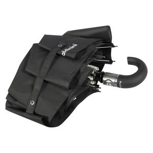 Зонт складной Baldinini 4015-OC Romano black фото-5