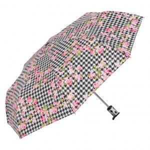 Зонт складной Baldinini 50-OC Flowers pepita фото-2