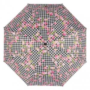 Зонт складной Baldinini 50-OC Flowers pepita фото-3
