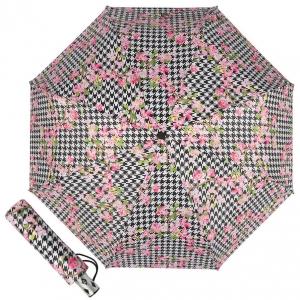 Зонт складной Baldinini 50-OC Flowers pepita фото-1