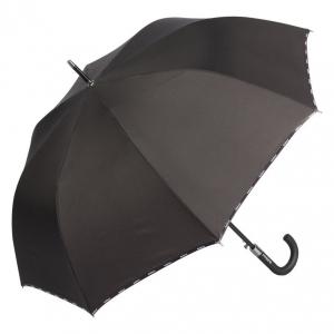 Зонт-трость Baldinini 56-AU logo line black фото-2