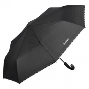 Зонт складной Baldinini 6002-OC logo line black фото-2