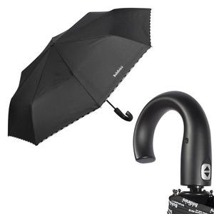 Зонт складной Baldinini 6002-OC logo line black фото-1
