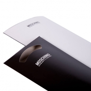 Зонт складной Moschino 7108-OCI Polka Dots Beige/Black фото-4