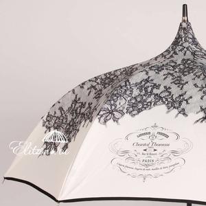 Зонт-трость Chantal Thomass 510-La Pagode  Primiere Beige  фото-3