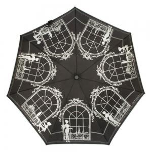 Зонт Складной Chantal Thomas 403-OC Mi-mi-mi noir фото-2