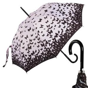 Зонт-трость CT 988-LM Shadow Butterfly long фото-1