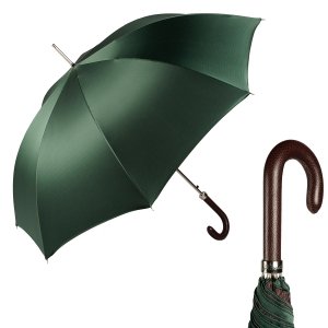 Зонт-трость Pasotti Pelle Moro Punto Verde фото-1